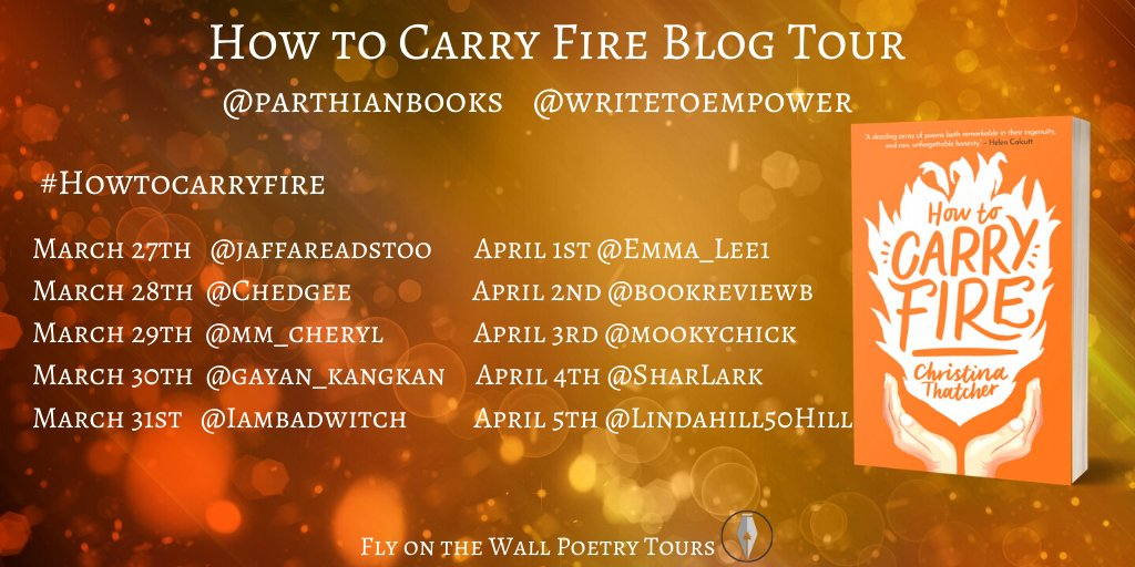 Striking the Match – Introducing the How to Carry Fire Blog Tour