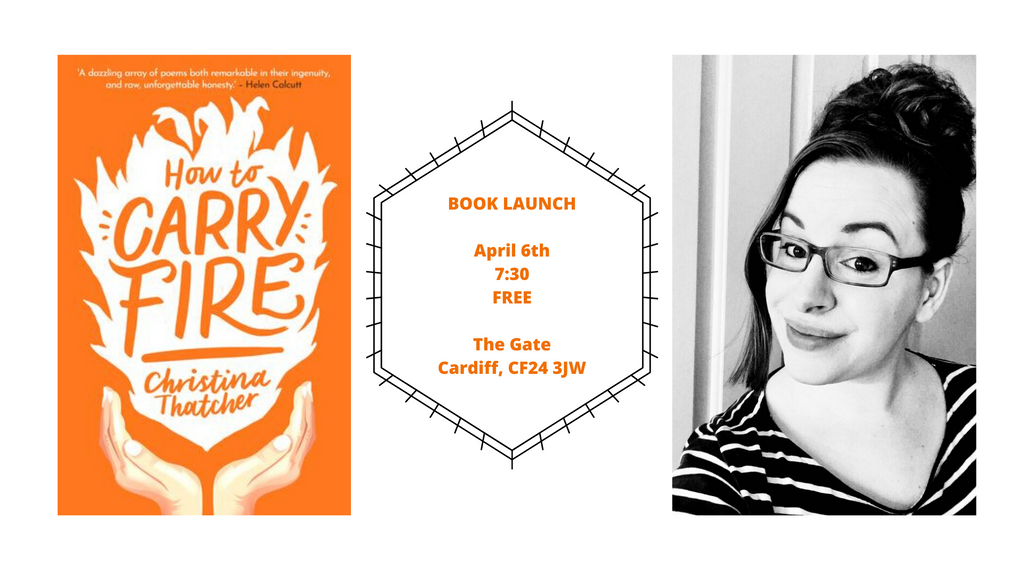 Book Launch: How to Carry Fire