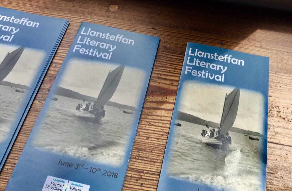 Rocking the Boat with the Llansteffan Literature Festival