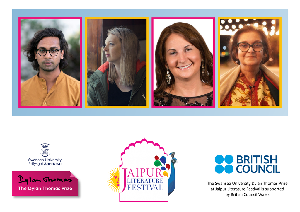 Swansea University Dylan Thomas Prize Announces Longlist in Jaipur in Celebration of 15th Year.