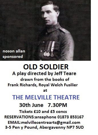 New Play 'Old Soldier' Remembers Frank Richards