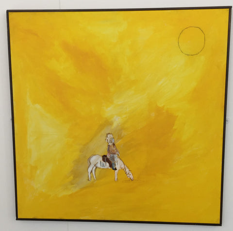 image of yellow painting