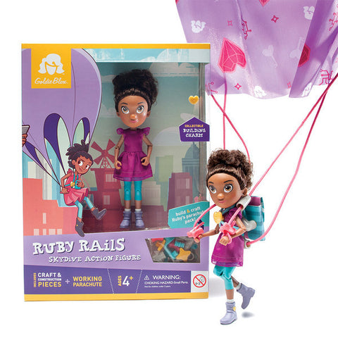 Ruby Rails Skydive Action Figure