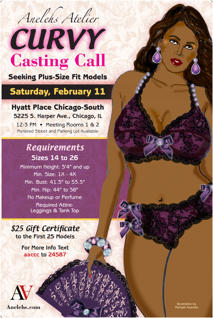 Plus Size Casting Call