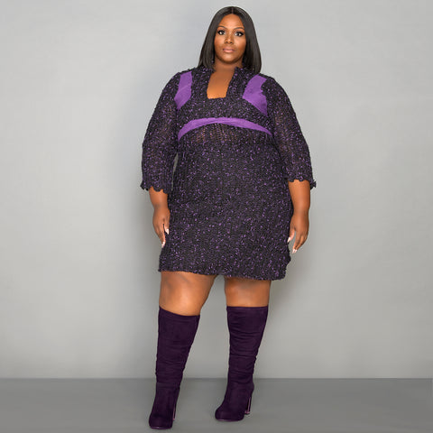 Women's Plus Size Sweater Dresses