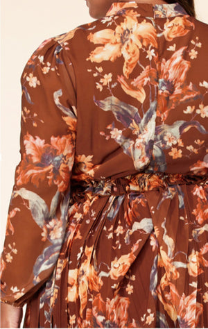 Pre-order Ashley Floral Dress Plus Size