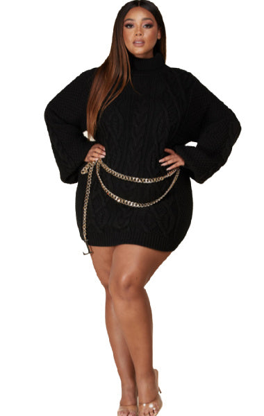 Pre-order Laura Sweater- Black PLUS SIZE