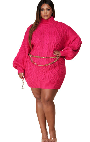 Pre-order Laura Sweater- Pink PLUS SIZE