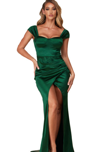 Pre-order Marilyn Evening Dress- GREEN