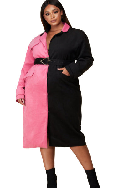 Pre-Order Zuri Trench Coat PLUS
