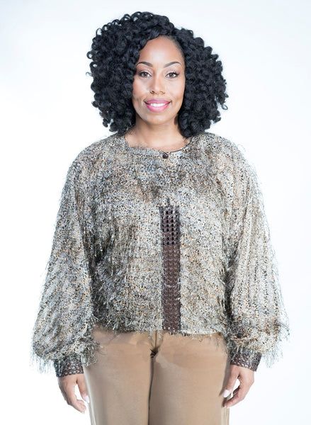 Cheetah Empire Blouse