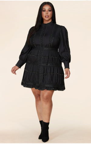 Pre-order Cookie Skater Dress PLUS SIZE
