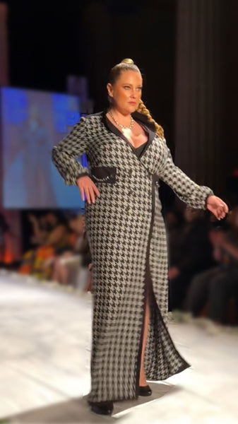 Women's Plus Size Wrap Dress