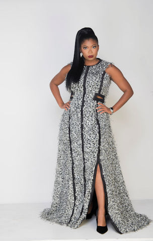 Azari Cheetah dress LAST ONE