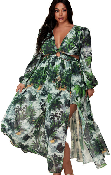Pre-order Sasha Floral Dress Plus Size