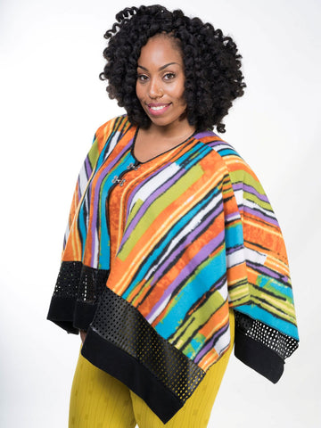 Winter wrap Stripe Rainbow LAST CHANCE!!!