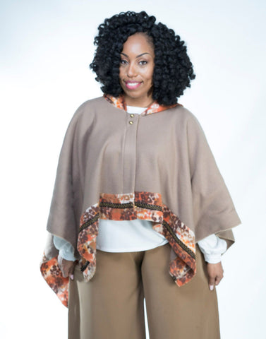 Winter wrap taupe LAST CHANCE!!!