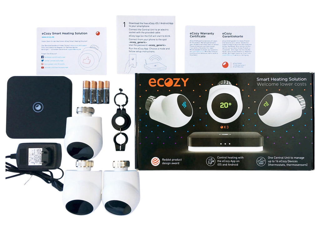 eCozy Comfort Kit (3T+CU) REFURBISHED
