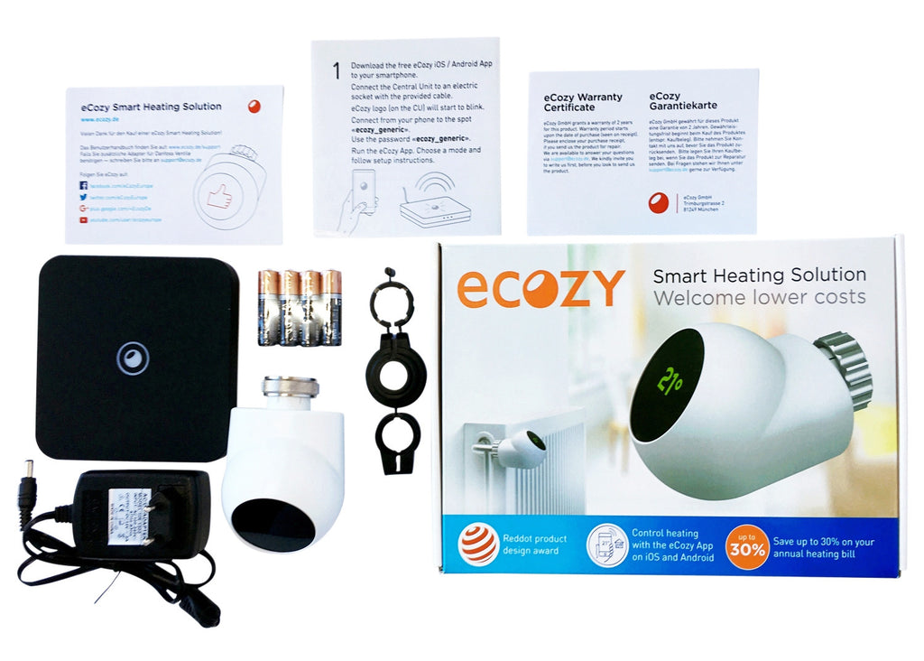 eCozy Starter Kit (1T+CU) END OF SEASON DEAL