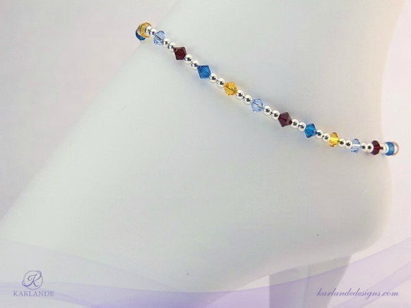 Autism Awareness Anklet