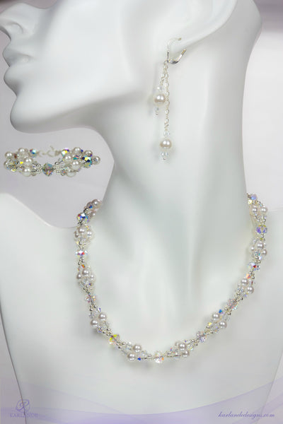 Britt's Bridal Jewellery Set