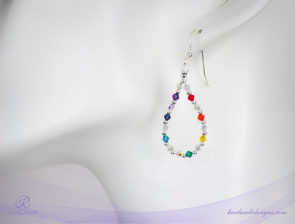 Chakra Loop Earrings