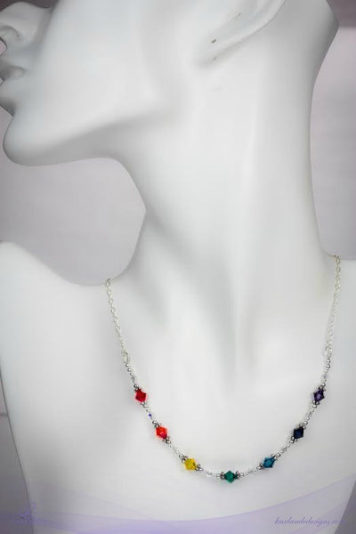 Chakra Crystal Necklace