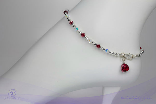 Heart and Stroke Anklet