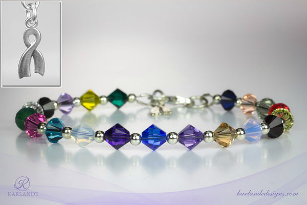 Hope Crystals Cancer Bracelet - Princess Margaret Cancer Foundation