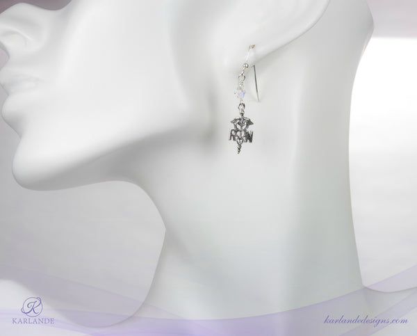 The Essence of a Registered Nurse - Charm Earrings
