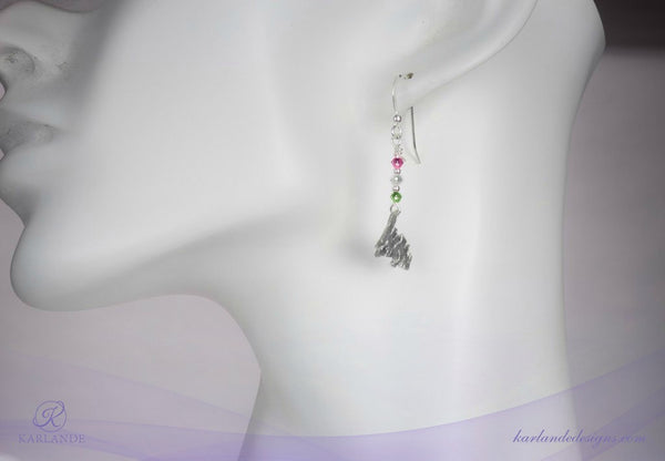 Republic of Newfoundland Map Earrings