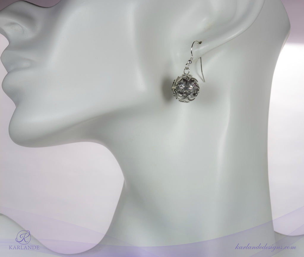 Royal Harmony Ball Earrings