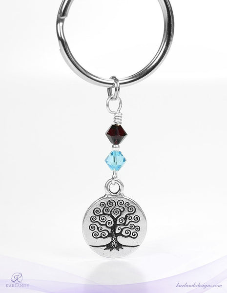 Tree of Life Key Rings