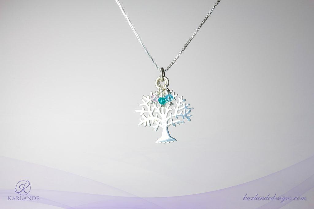Sterling Silver Tree of Life Pendant #2