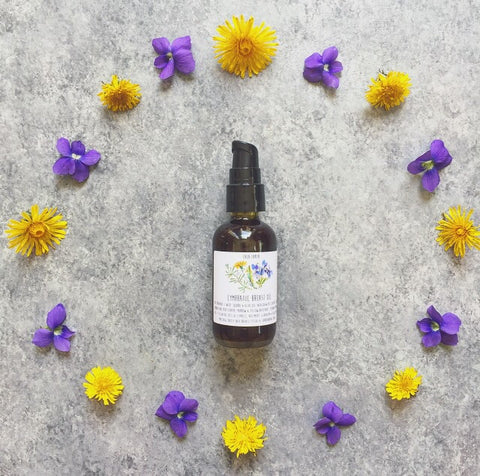 Lymphatic Breast Oil