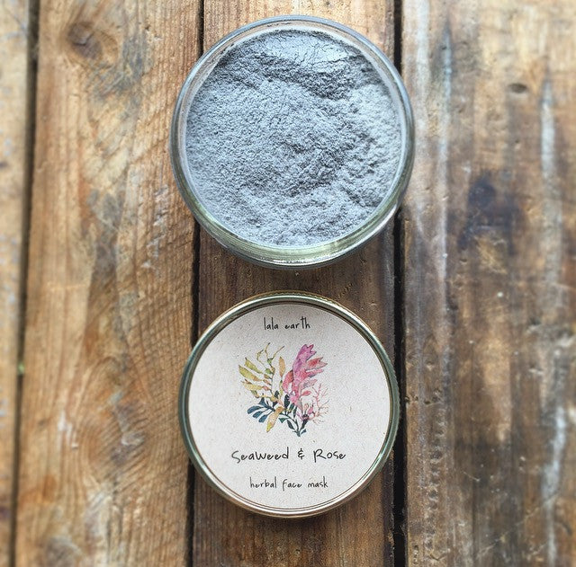 Seaweed & Rose // Herbal Face Mask