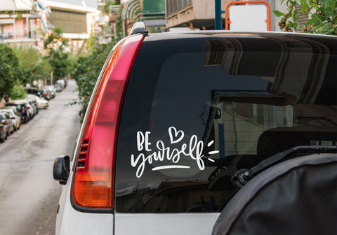 Be yourself - Vinyl decal