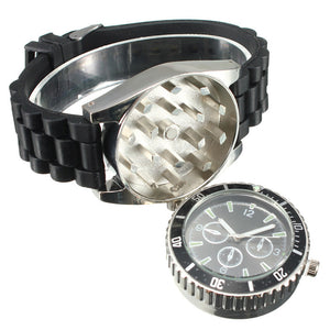 Metal Alloy Men Watch Cigarette Herb Grinder