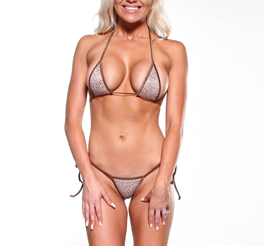 3pc Scrunch Bikini BB166