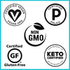 We're officially CERTIFIED Paleo, Keto, and Vegan!