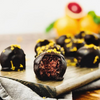 No-bake Blood Orange Chocolate Energy Bites