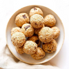 Peanut Butter & Oatmeal Chocolate Chip Energy Bites