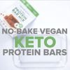 No-bake Vegan Keto Protein Bar Recipe Video