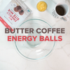 No-bake Butter Coffee Energy Balls Recipe Video | Keto, Paleo