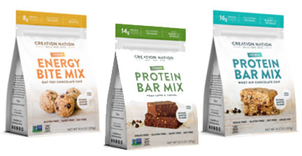 Food Creation Nation Protein Bar Mix