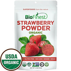 Freeze Dried Strawberry Juice Powder