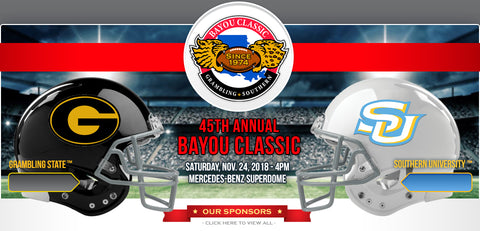 Check out HBCU1837Co @ Bayou Classics This Weekend!