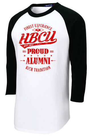 HBCU Proud Alumni Black and Red