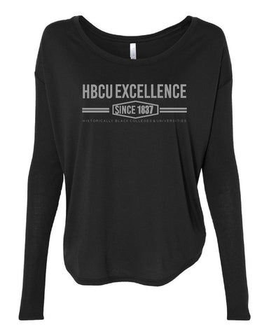 HBCU Excellence Longsleeve Black