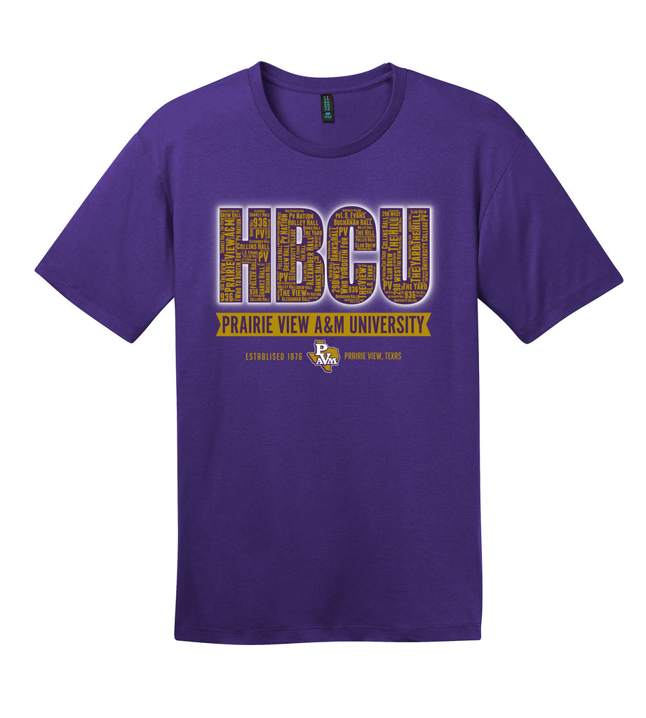 Prairie View HBCU Collage Unisex Tee